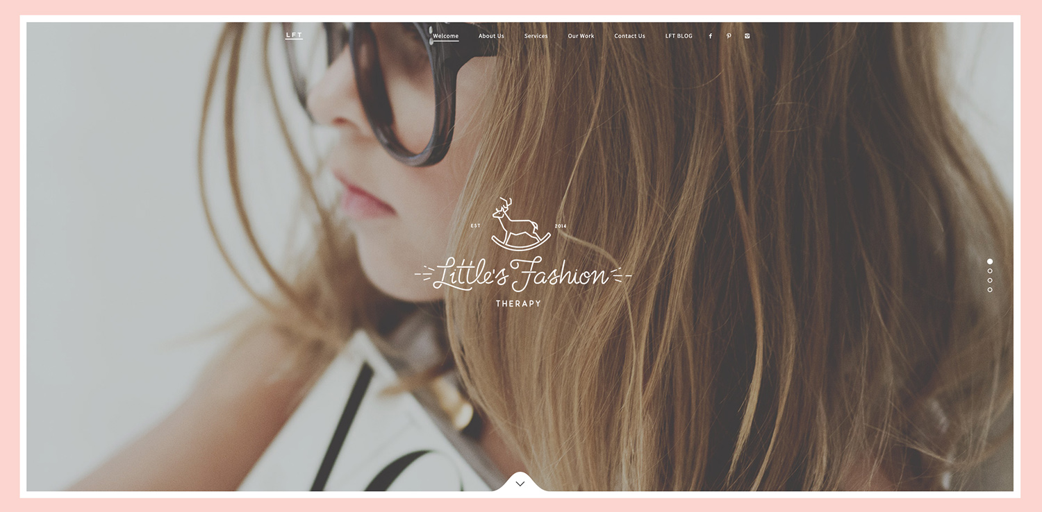 Little's Fashion Therapy, proyecto de Branding, Fotografía y Diseño Web por The Woork Co