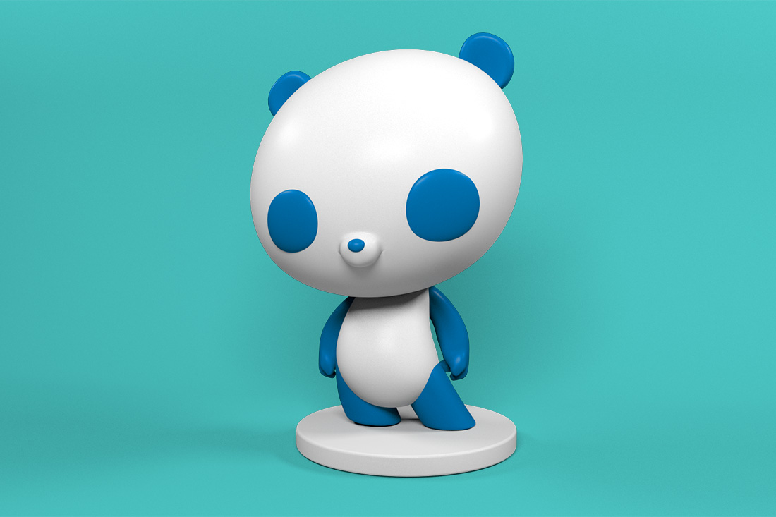 Panda Vinyl Toy