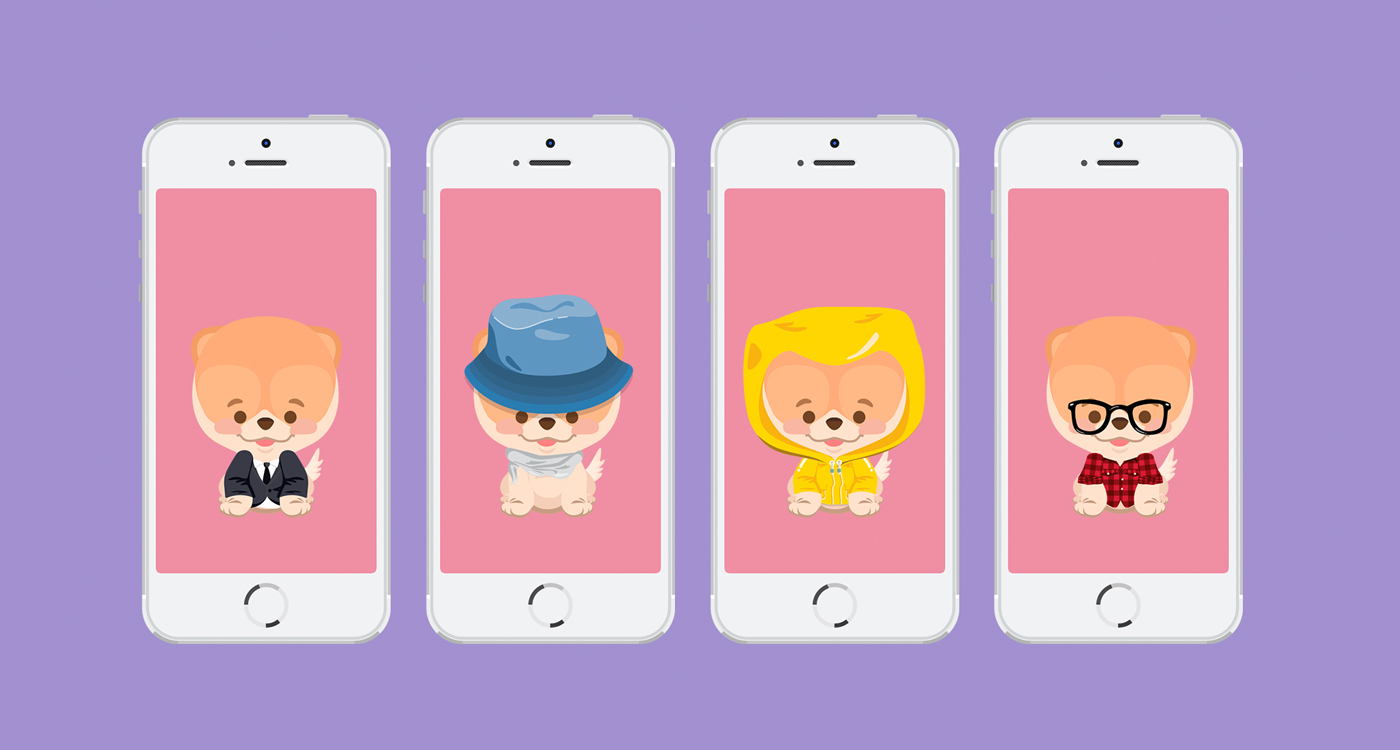 Boo Diseño de Personaje e Iconos, Proyecto de The Woork Co