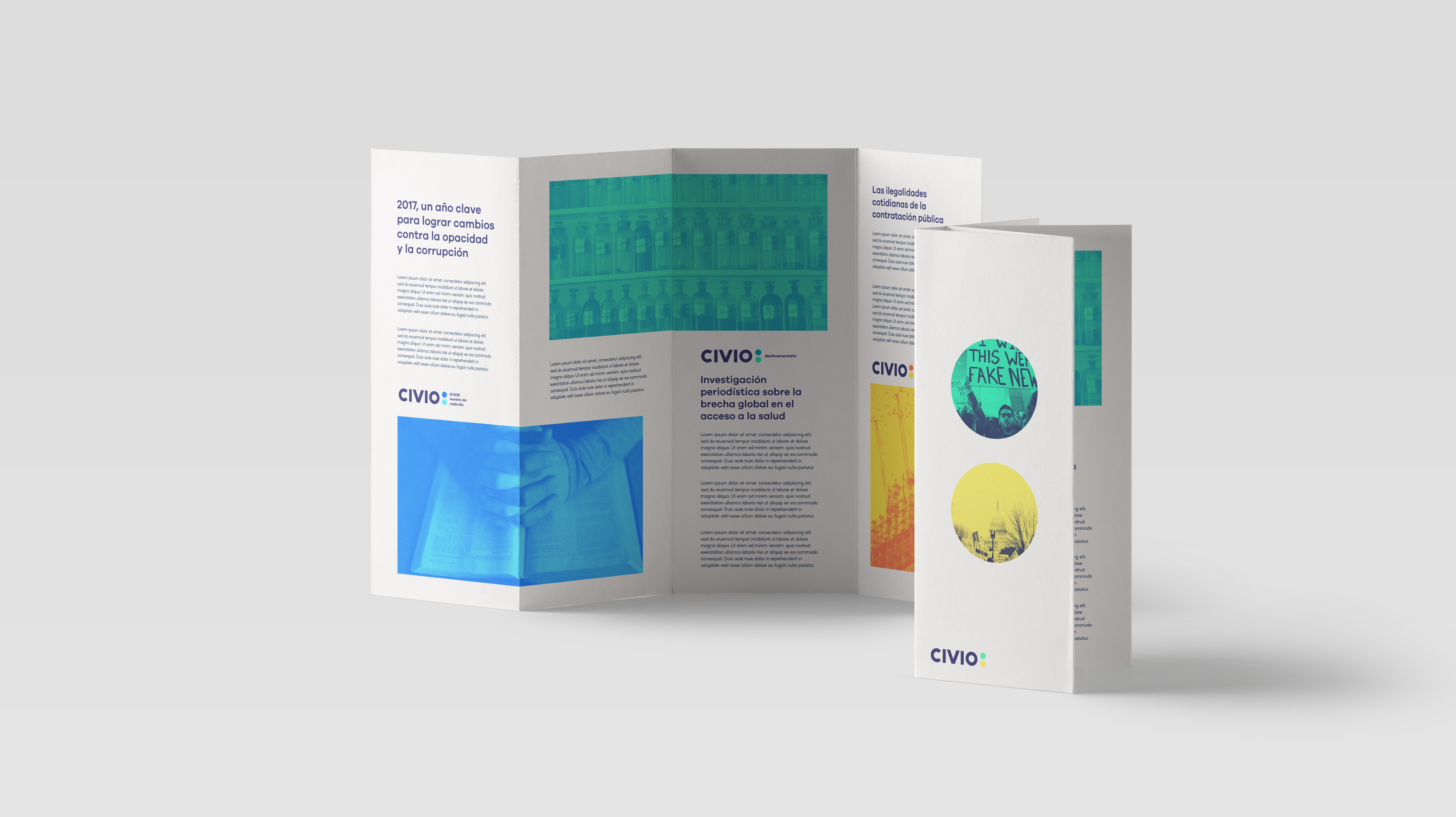 Civio Branding by The Woork Co