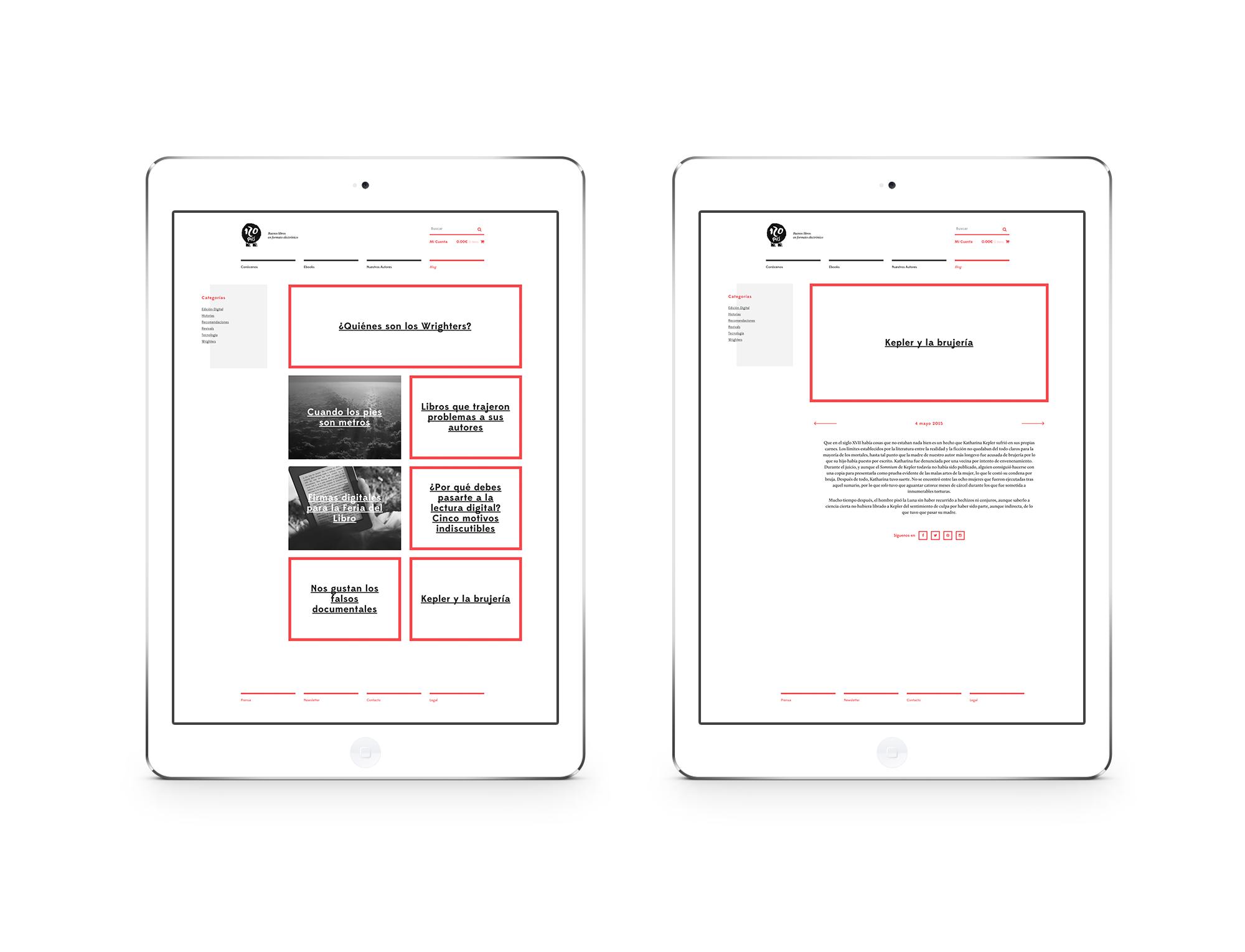 120 Pies, un proyecto de Branding & Web Design por The Woork Co