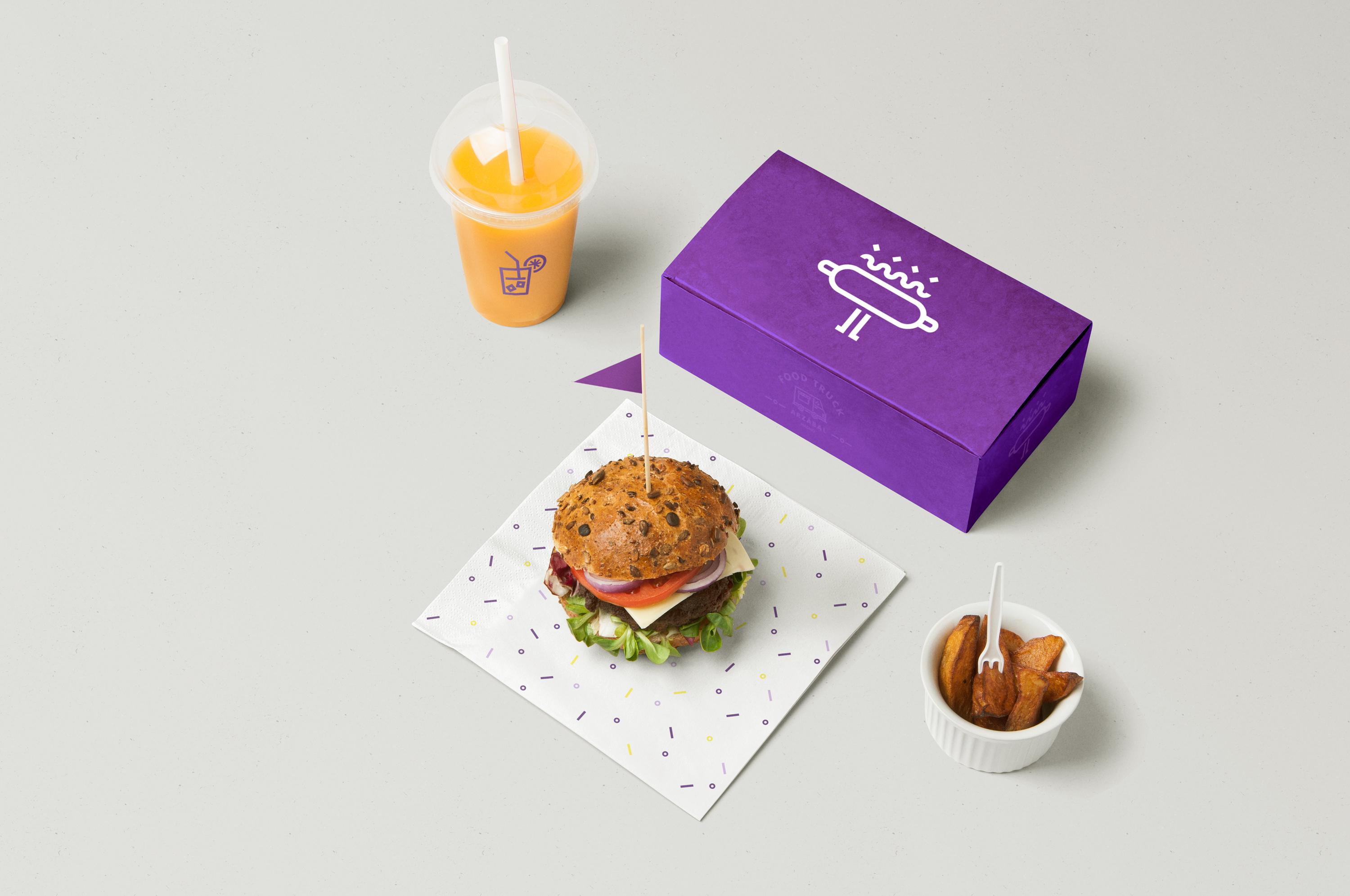 Arzábal Food Truck Branding by The Woork Co