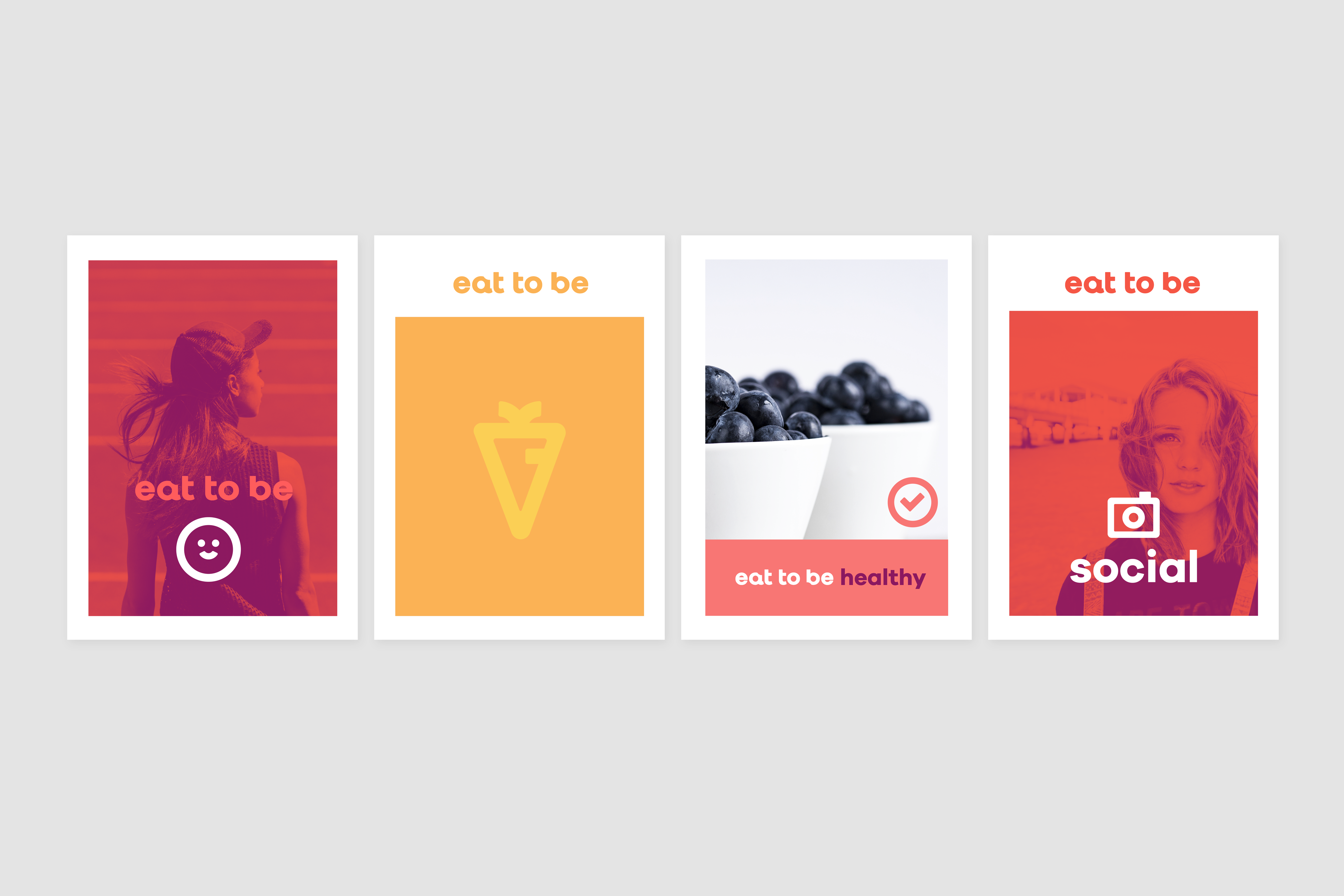 Eat to be Branding by The Woork Co