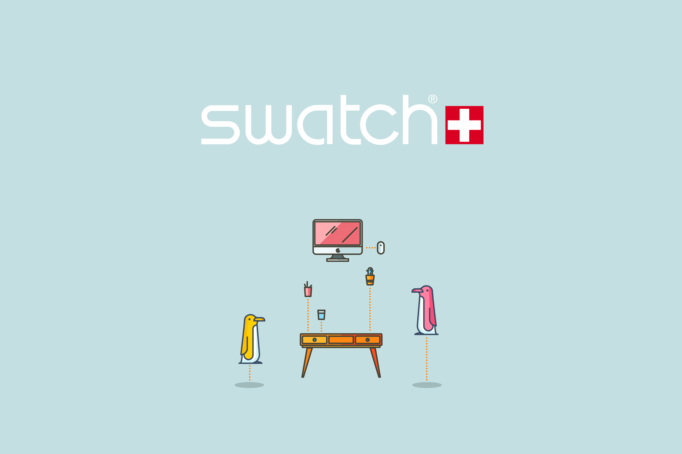 Swatch Winter Catalog Illustrations