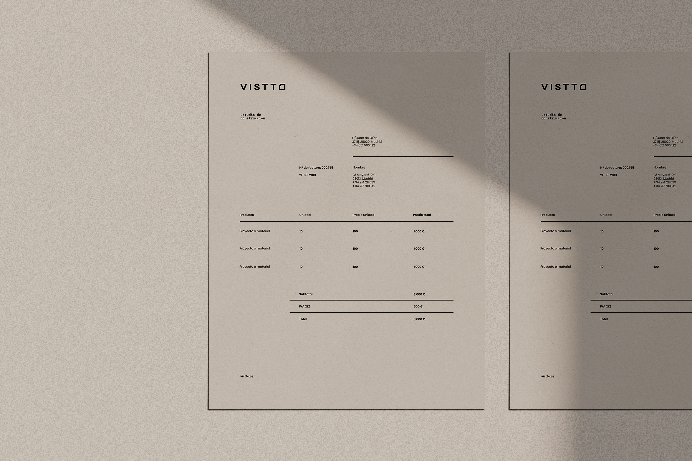 Vistto Naming and Branding by The Woork Co